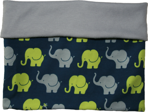 Loop Scarf 2 in 1 elephants