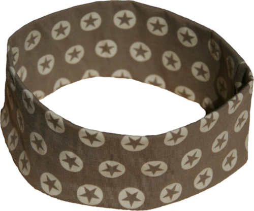 headband starcircles grey